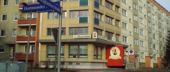 Das Wohngebiet Neuplanitz in Zwickau